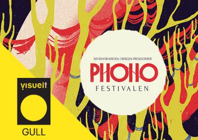 Phono festival identity